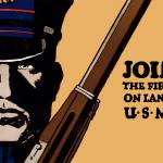 Join Me Land Sea US Marines by Leo KL