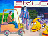 Turing and the Skugs