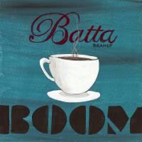 Batta Boom Coffee Art Prints & Posters by David Brandt