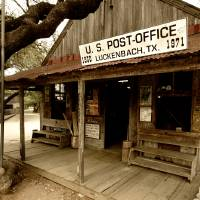 Luckenbach Art Prints & Posters by Dennis Roy Smigel