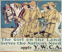 Girls on the Land Serves the Nation's Need posters