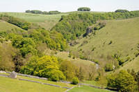 Hilltop View Above Mill Dale (23262-RDA)
