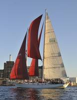Schooner Adventurer sails Baltimore Harbor