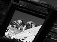 Framed Wolf Peak