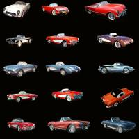 cars 1954-1963 by William Ballester
