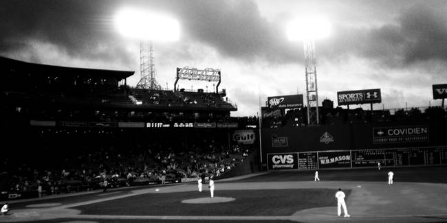 Fenway Park Panoramic By Natalie Robinson