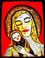 MADONNA AND CHILD by Lorielle New