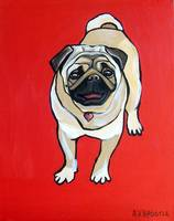 Red Pug