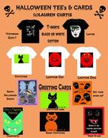 Halloween Cards & Shirts (c)Lauren Curtis