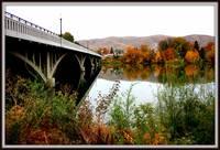 Bridge to Downtown Prosser by Carol Groenen