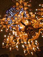 Golden Chandelier