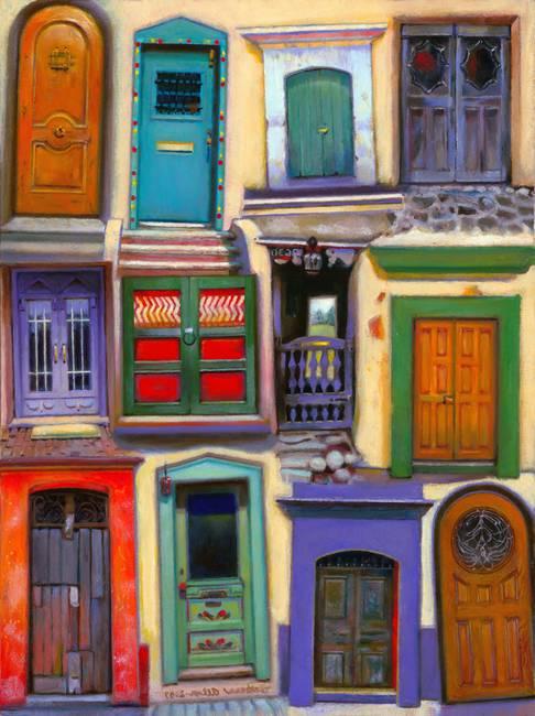 & Santa Fe Doors by Barbara Allen