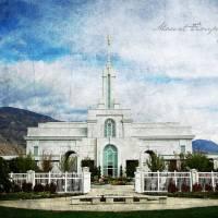 """""""Mount Timpanogos Temple"""" by brycegandy"""