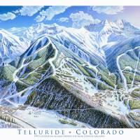 """""""Telluride"""" by jamesniehuesmaps"""
