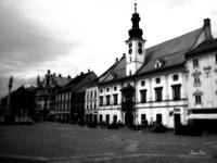 Maribor Square Black and White