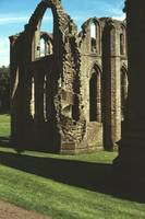 Fountains Abbey in Summer 3 by Priscilla Turner