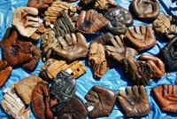 Old Time Baseball Gloves