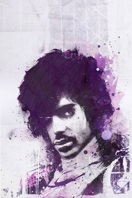 Purple Reign Art Prints by Mike Orduna