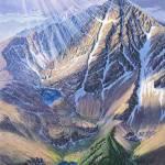 """Mt holy Cross, Colorado"" by jamesniehuesmaps"