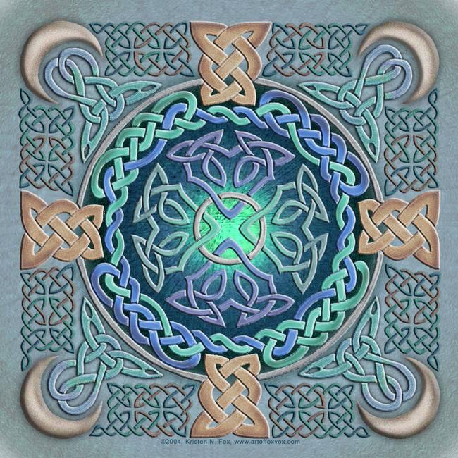 Emergence Limited Edition Celtic Art Print by Welsh artist ...   Celtic Fine Art Prints