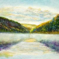watercolour sketch - Landscape series (A) Art Prints & Posters by Patrick Pearse