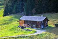 Old Swiss Farm House