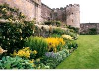 Garden at Stirling Castle