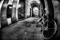Bycicle, Arches and lights