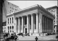 San Francisco, Bank of California HQ c 1920