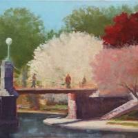 """Boston Common in the Springtime"" by HeatherKarp"