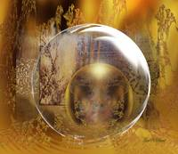 In a Golden Globe of Oneness!