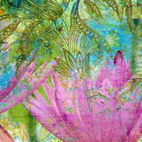 Abstract Waterlilies II