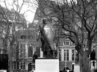 Churchill Statue in London