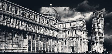 A Black and White Pisa