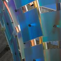 steel and glass 6 by Connie Yost