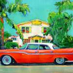 """""""The Red Sled - California Holiday"""" by RDRiccoboni"""