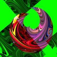 Cosmic Cytokinesis 15 Art Prints & Posters by Doyle Gercken