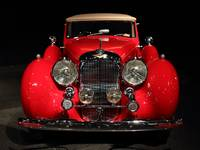 Red Lagonda Front View