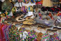 Beads, alligators, and masks New Orleans