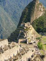 Inca Sun Temple at Machu Picchu