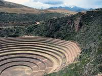 Moray in the sacred valley of the Incas