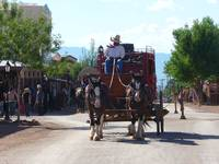 Stagecoach in Tombstone