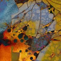 """Rustic Abstract 24"" by FantaSeaArt"