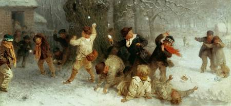 Snowballing in 1865 by John Morgan