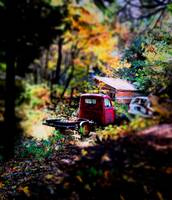 Old Truck in Fall