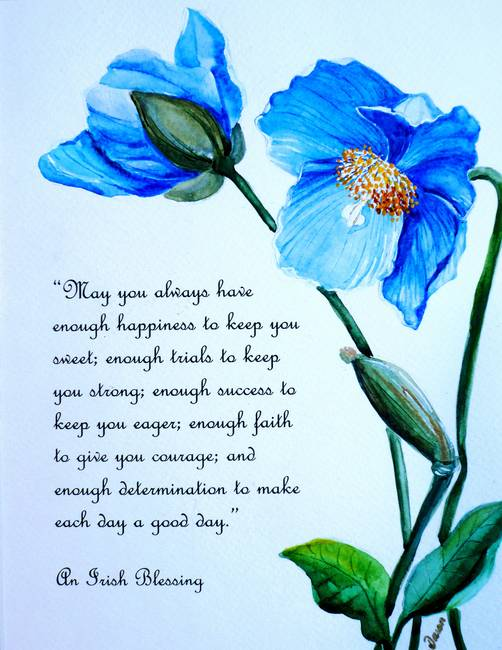 Blue poppy poem by karin dawn best mightylinksfo