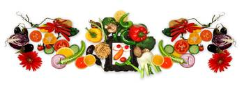 Vegetable dietary panorama