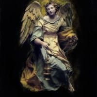 Painted Angel 6 Art Prints & Posters by Steve McAfee