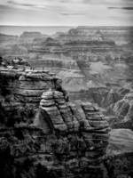 Grand Canyon Classic View B&W