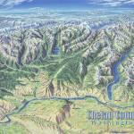 """Chelan County, Washington"" by jamesniehuesmaps"